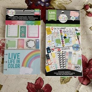 Happy Planner sticker bundle